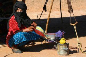 Nomads in the Desert. Marrakech tour