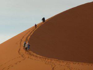 Merzouga desert big dunes