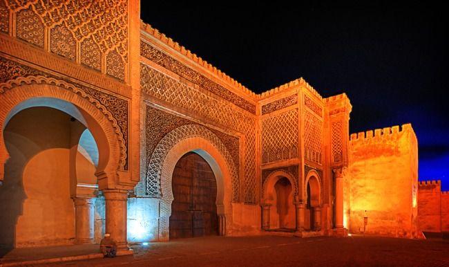 Bab-Mansour, Meknes
