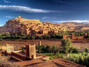Morocco grand tour. Ait ben haddou kasbah ouarzazat