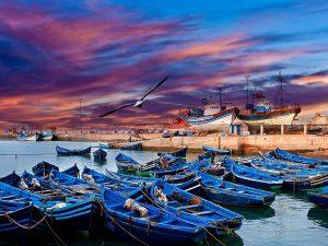 Morocco grand tour. Essaouira city