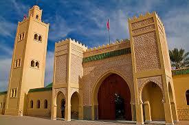 Rissani desert gate. Sahara tour