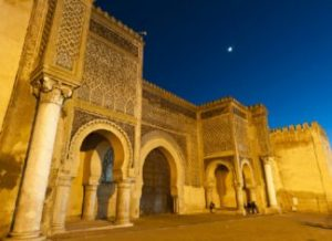 Elmansor gate in Meknes