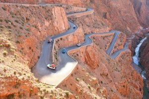 Tisdrine twisted road, Morocco private tour