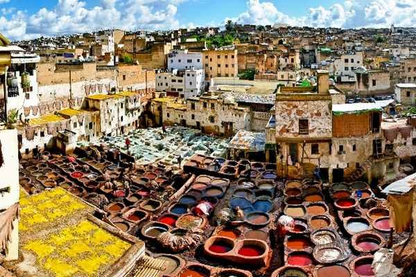 Authentic tour tanneries in Fez
